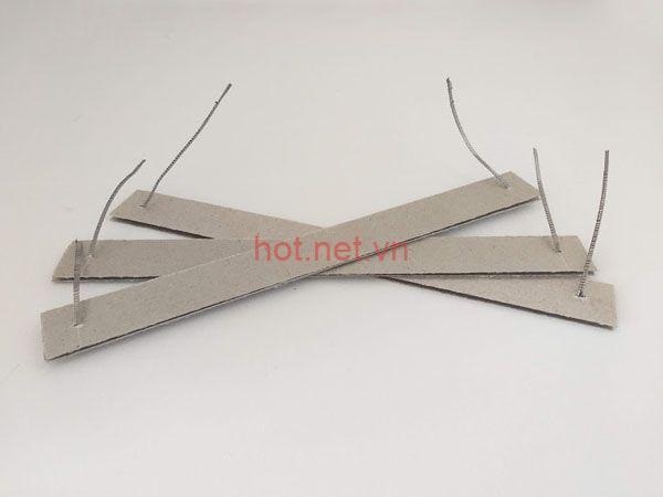Điện trở máy ép nhiệt đạp chân 30cm 3