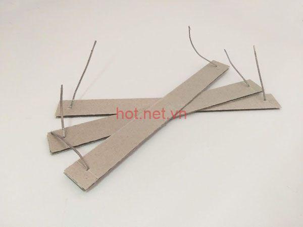 Điện trở máy ép nhiệt đạp chân 50cm 1